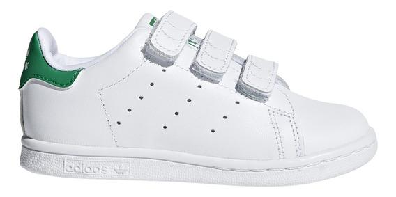 Zapatillas adidas Originals Moda Stan Smith Cf I Bebe Bl/vd