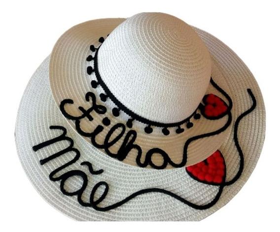 Chapéu Personalizado Praia Tal Mãe E Tal Filha