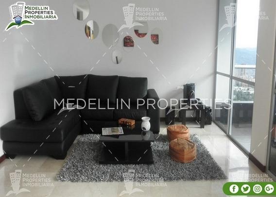Arrendamientos De Apartamentos Baratos En Medellín Cód: 4300