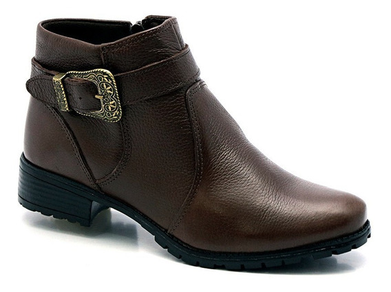 Bota Botinha Sandália Feminina Tenis Sapato Couro Legítimo