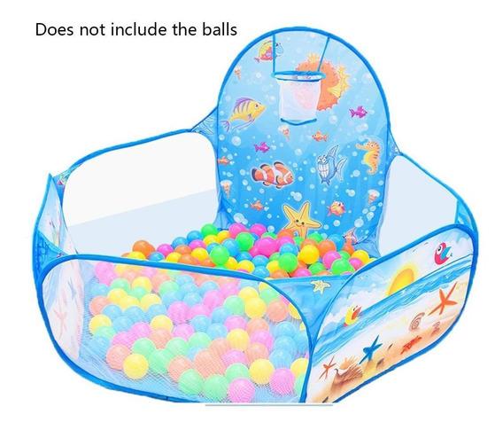 Dobrável Crianças Bola Pit Cerca Crianças Jogar Tenda Jogo O
