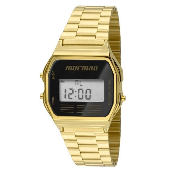 Relógio Mormaii Digital Feminino Quadrado Mojh02ab/4p