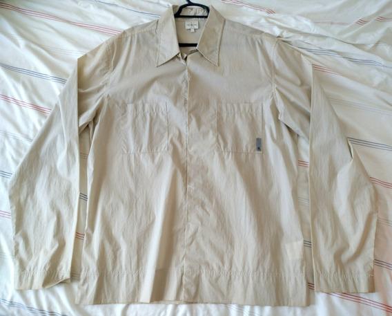 Envio Gratis Mexico Camisa Calvin Klein Ck Hombre Xl Hueso
