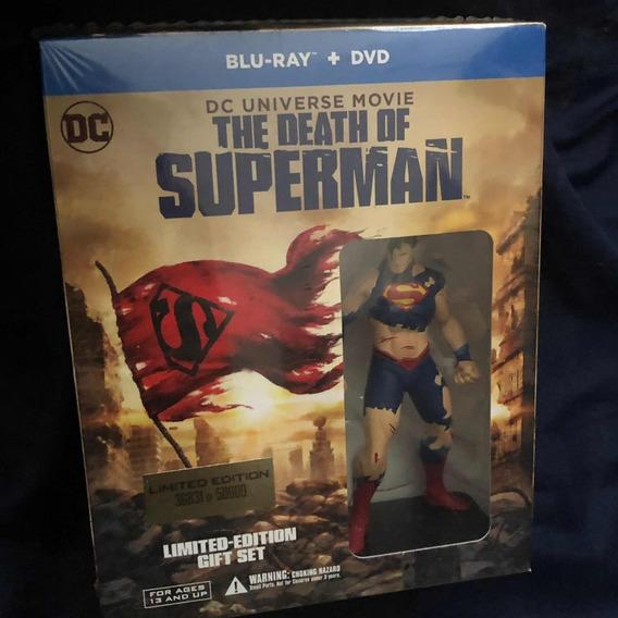 Death Of Superman La Muerte De Superman C/figura Supermán