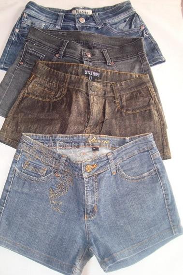 Shorts De Jean Para Damas Levanta Colita