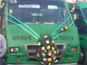 Microbus Con Permiso De Pasajeros Ruta En Tulancingo