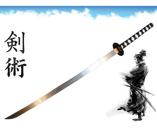 Katana Espada Japonesa Para Impacto E Treino De Combate