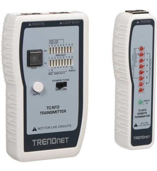 Tc-nt2 Tester Cable De Red Utp Amp Furukawa Rj45