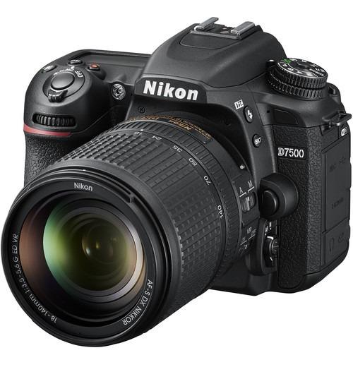 Camara Nikon D7500 Dslr Kit Lente 18-140mm Nueva Garantia