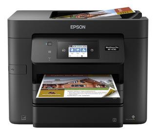 Impresora Epson Pro Wf-4730 Copiadora Y Escáner Wi-fi