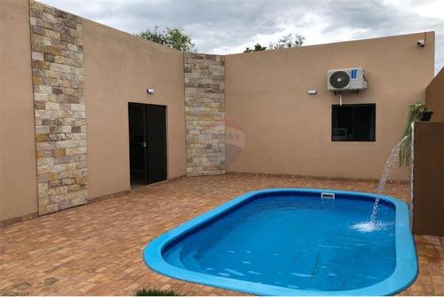 Vendo Casa Con Piscina A Estrenar: 2 Habitaciones Y 2 Baños