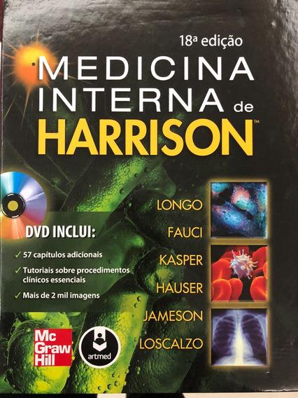 Livro Medicina Interna De Harrison 18 Edição