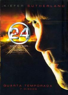 Dvd Box Série 24 Horas 4ª Temporada Completa 7 Dvd