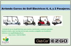 Arriendo Carros De Golf