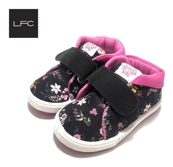 Zapatillas Para Niños Niñas Jaguar Con Abrojo (33/200)
