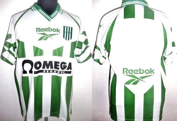 Camiseta De Banfield Titular 1997 Marca Reebok Talle S !!!