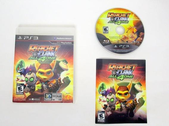Ratchet & Clank: All 4 One Jogo Infantil Para Playstation 3