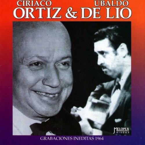 Ortiz & De Lío - Grabaciones Inéditas 1965 - Cd