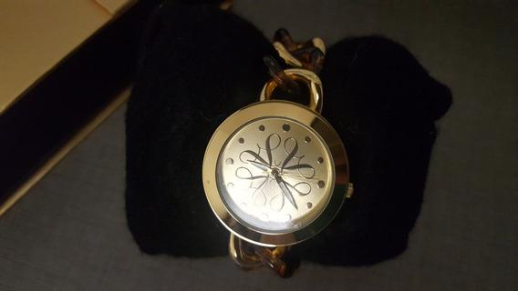 Relógio De Pulso Banhado A Ouro