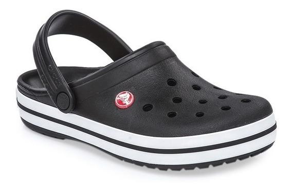 Ojota Sandalia Crocs Crocband Negro - Sagat Deportes