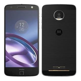 Motorola Moto Z Style Xt1650-03 Preto 64gb Original Vitrine