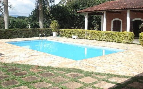 Chácara Com 5 Dormitórios À Venda, 2000 M² - Vale Do Rio Cachoeira - Piracaia/sp - Ch0530
