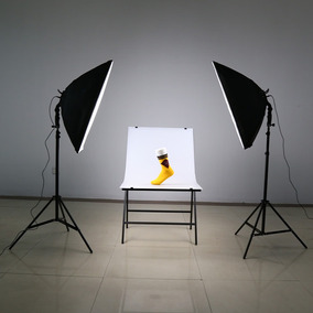 Andoer Led Fotografia Kit Luz De Eu