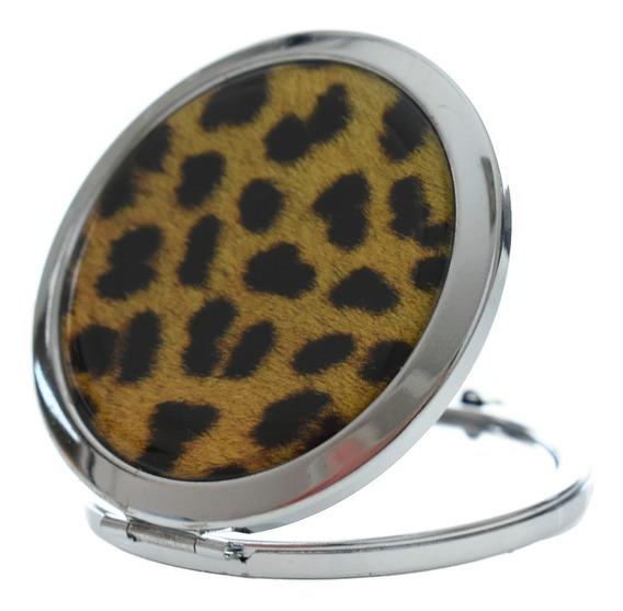 Espelho De Bolsa Bolso Feminino Batom Compacto Oferta