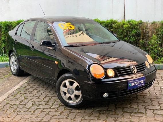 Volkswagen Polo Sedan 1.6 Flex Completo 1500 Entrada+450mes