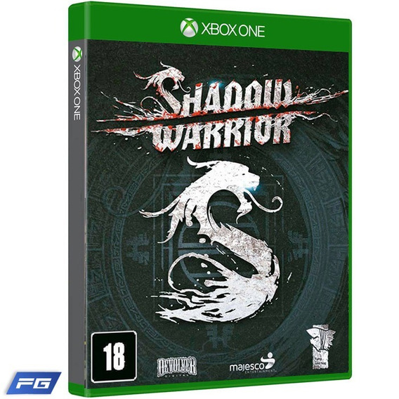Jogo Shadow Warrior Xbox One Lacrado Mídia Física