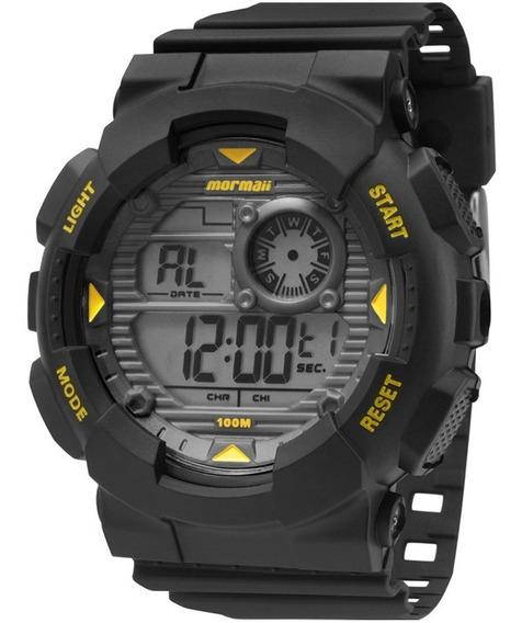Relógio Mormaii Masculino Mo3415/8y, C/ Garantia E Nf