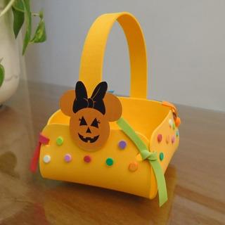 Golosineros Para Halloween - Goma Eva- Bolsitas - Souvenirs