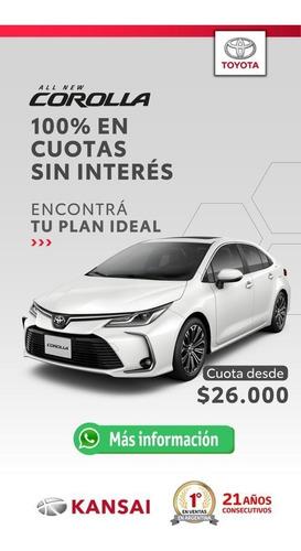 Plan De Ahorro Toyota Corolla 100%