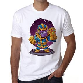 Playera Hombre Thanos Chibi 2