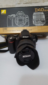 Câmera Fotográfica Nikon D40 + Acessórios