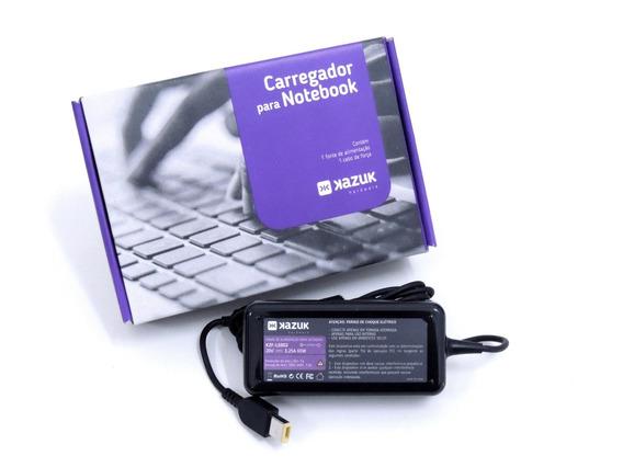 Fonte Carregador Notebook Lenovo 20v 3.25a Slim Tip