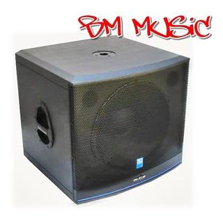 Caja Acústica Activa Zkx Mk 1530 A - Bm Music Pacheco