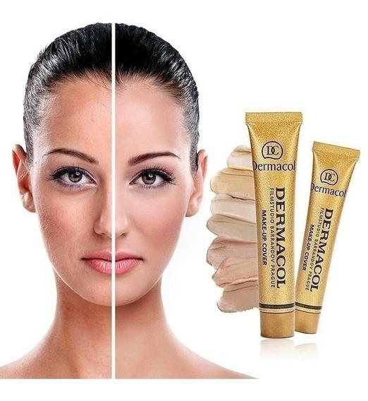 Dermacol Original Base Maquillaje Cubritiva Tatuajes Rostro