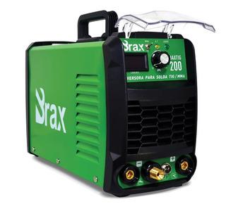 Solda Tig 200a Bivolt Profissional Eletrodo Brax Inversora