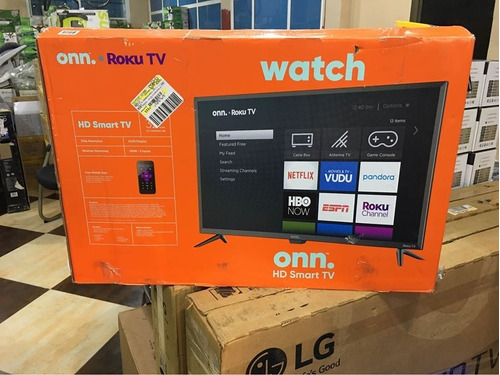 Imagen 1 de 1 de Smart Tv 4k Ultra Hd Onn 50 Pulgadas