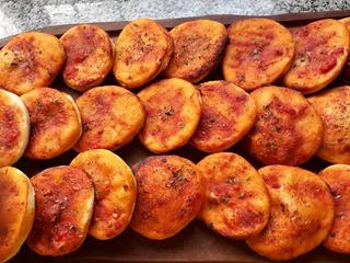 Pizzetas Caseras Individuales En Pack X 48 Unidades !!!