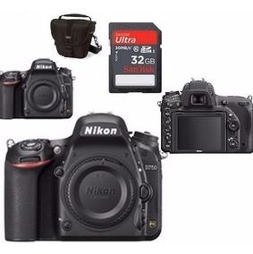 Câmera Nikon D750 (corpo) + Sd 32gb + Bolsa