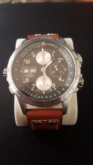 Reloj Hamilton Khaki X Wind Automático