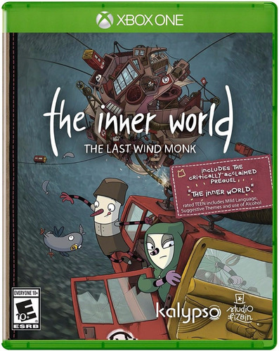 Imagen 1 de 6 de The Inner World The Last Wind Monk Nuevo Xbox One Dakmor