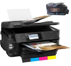 Impressora Epson Wf7710 A3 Sublimatica Scanner Com Bulk