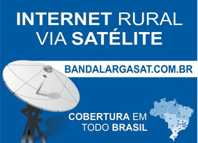 Internet Rural Via Satélite Com Wifi Grátis