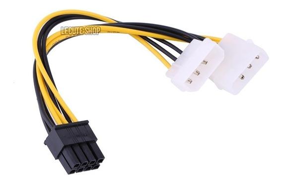 1 X 5dol Cable Dual Molex A 6 P Tarjeta Pcie Equiprogram