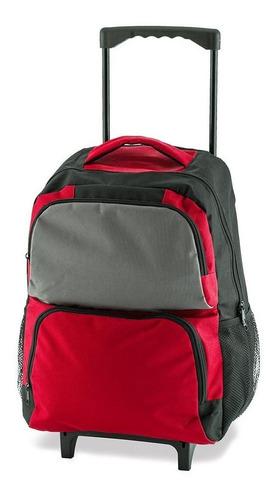 Maleta Morral Backpack Escolar Con Ruedas - Landik