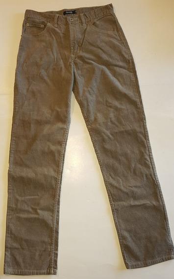 Pantalon De Corderoy Hombre Talle 38 Oferta