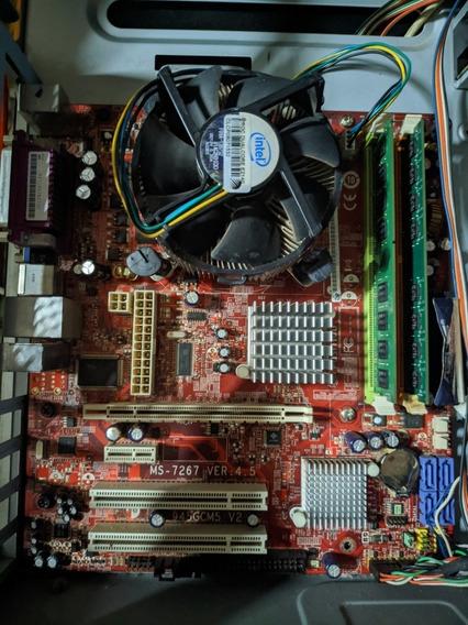 Kit Core 2 Duo 7500+ 3gb Ddr2